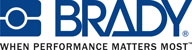 Brady When Performance Matters Most Logo